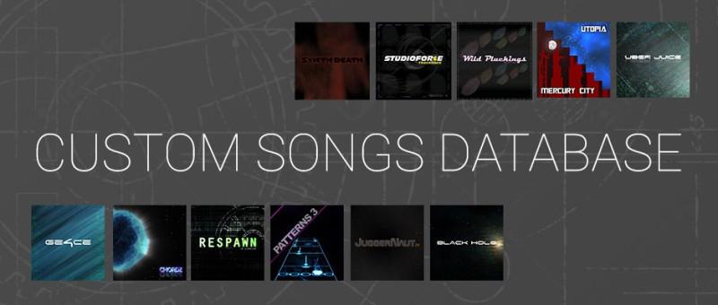 Custom Songs Database
