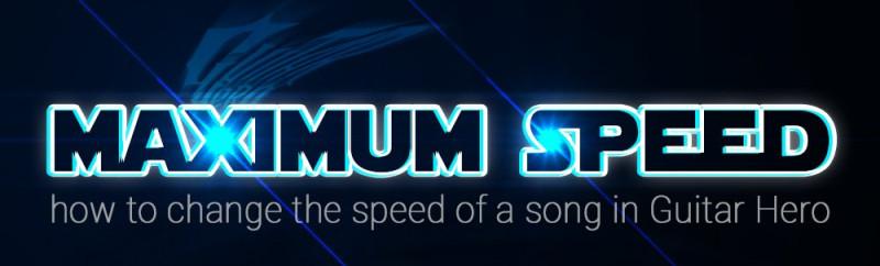 change the speed of guitar hero charts - www fullcombo net