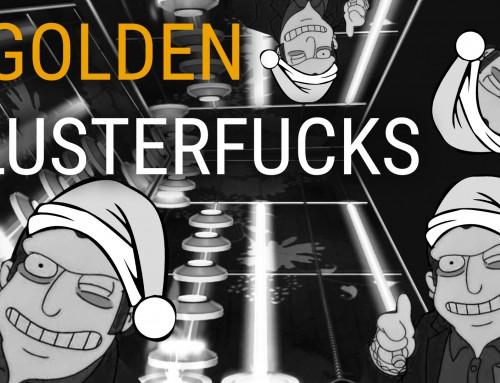 5 Golden Clusterfucks – Guitar Hero Christmas Song!