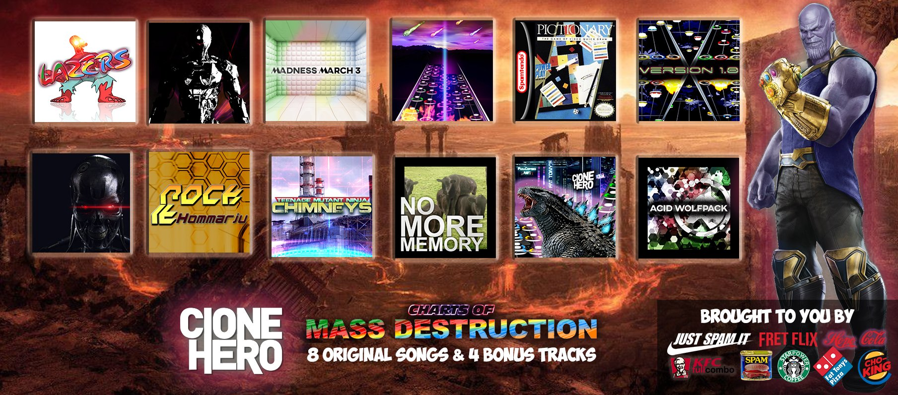 Charts of Mass Destruction Track Pack
